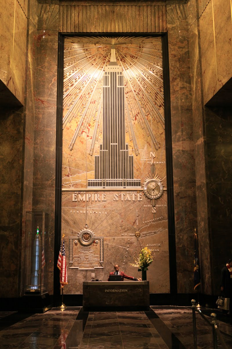 Empire State Building Inside View