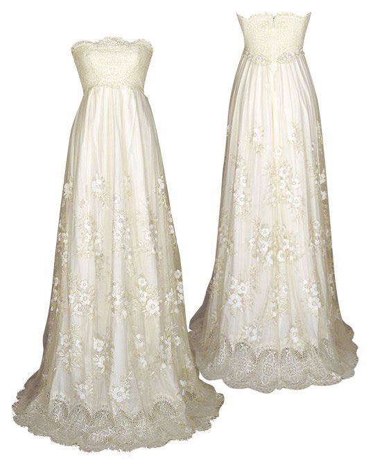 Jane Austen Style Wedding Dress
