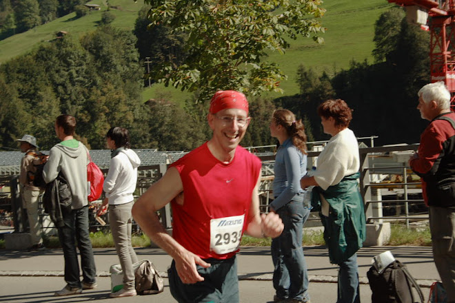 Jungfrau Marathon, Switzerland September 2007