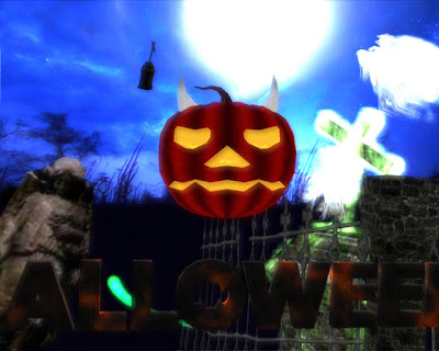 3d Halloween Wallpaper