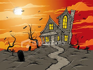 halloween sunset night wallpaper