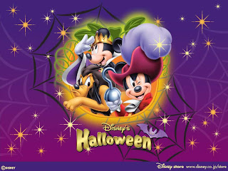Animated Disney Halloween Wallpaper