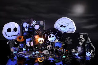 Nightmare Before Christmas Halloween Theme Wallpaper