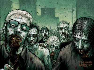 Halloween Zombies Wallpaper