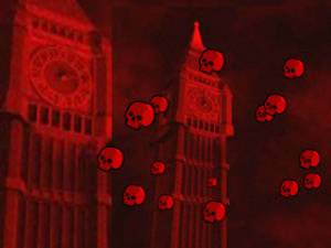 red terror halloween wallpaper