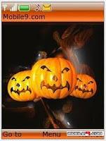 halloween mobile phone themes