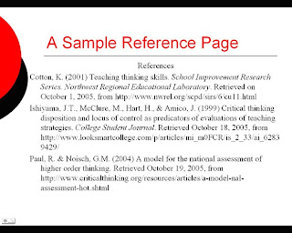 reference writing in research paper