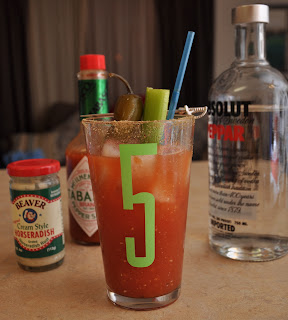 Jalepeno Bloody Mary recipe