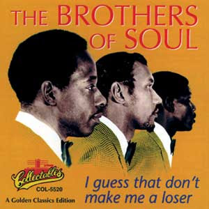 LP THE BROTHERS OF SOUL - i guess that don't make me a loser (197?) (only for enchange)