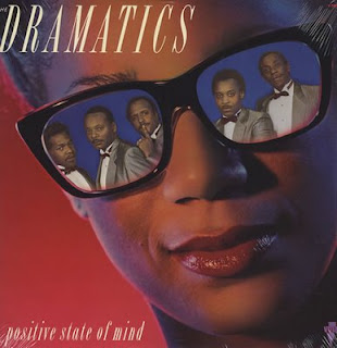 LP THE DRAMATICS - Positive State Of Mind (1989) (only for enchange)