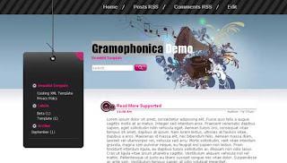 Gramophonica XML Template