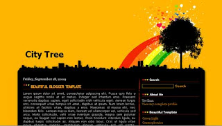 City Tree XML Blogger Templates