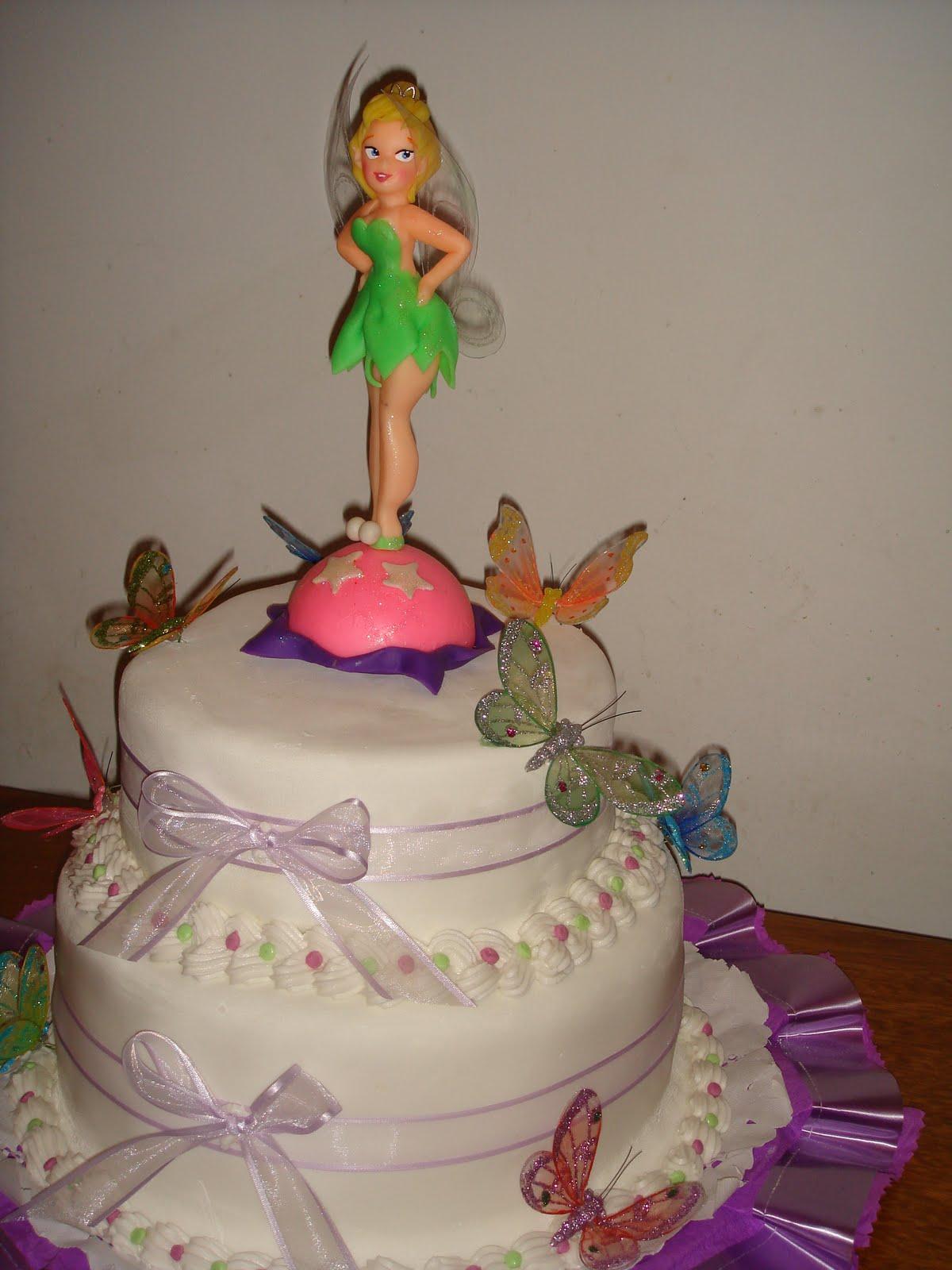 Tortas campanita cumpleaños - Imagui