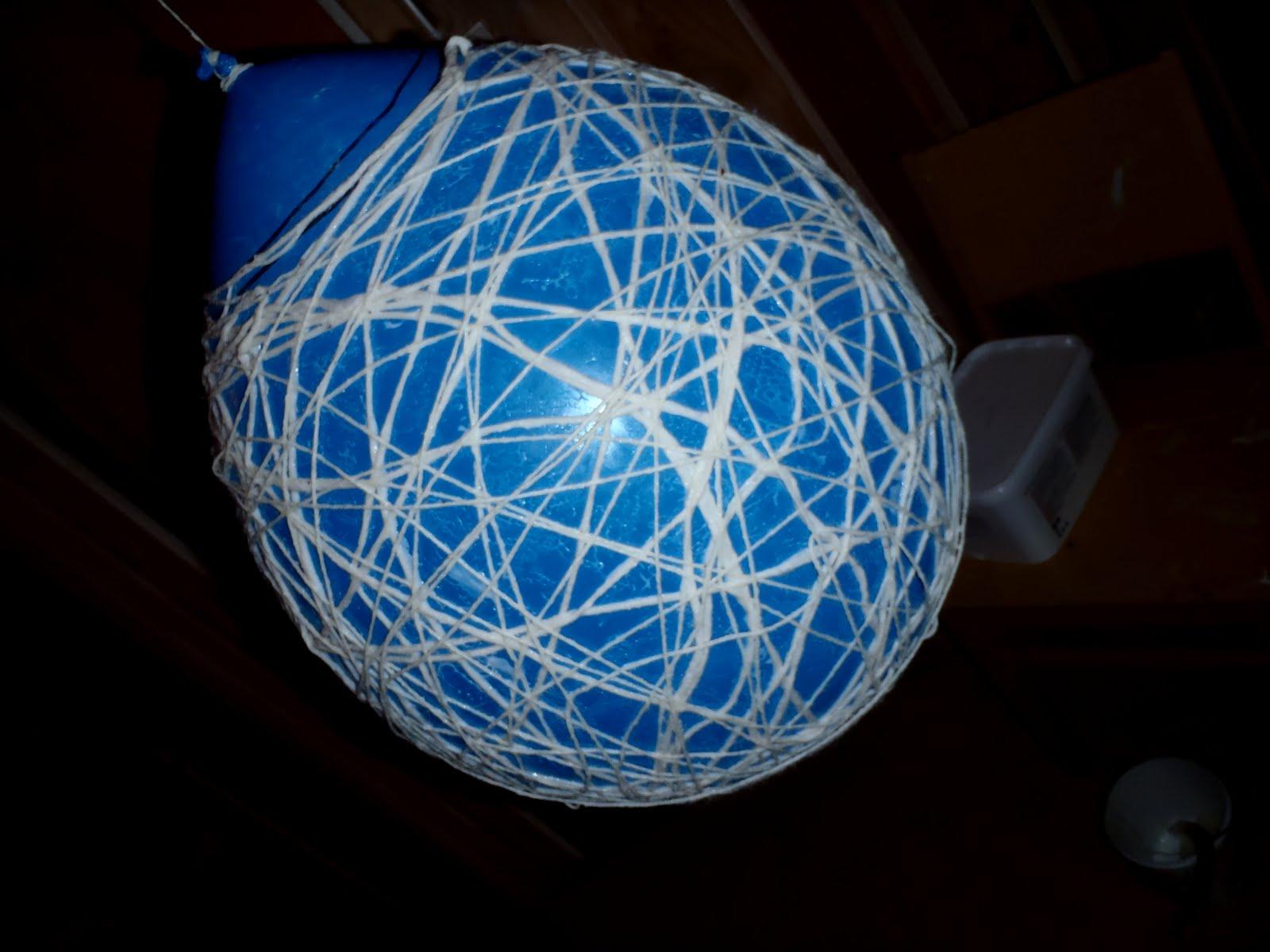 Dinas kreative hjørne: b for ballonglampe!