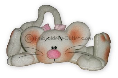 OUTLET SOFTTOYS Embroidery+Outlet+-+Mousse+Lisa