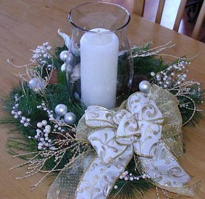 Fika a dika por um mundo melhor natal decora o centro - Centro de navidad con velas ...