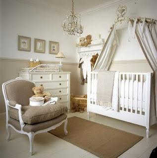 Promofever: decoração com dossel em quarto de bebé