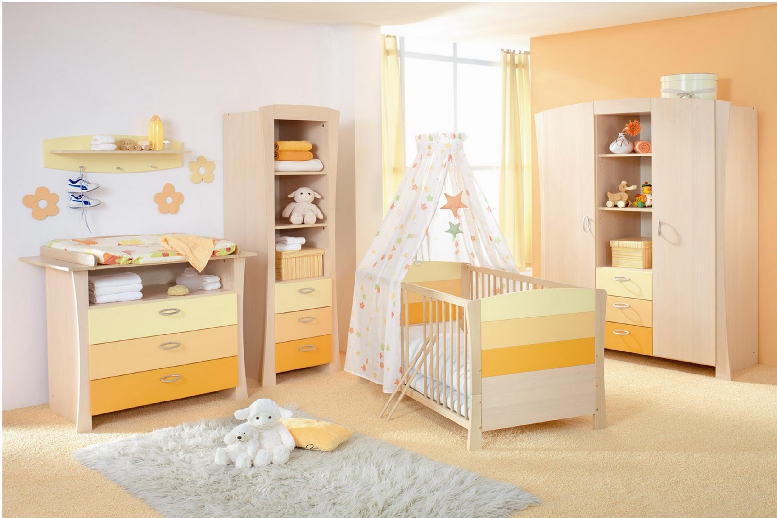 Mil ideias de decora o quartos de beb - Room e ...
