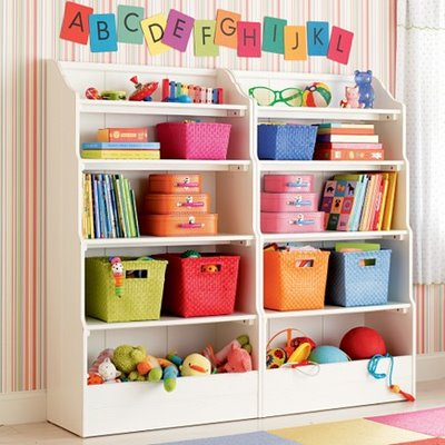 Bedroom storage ideas on the best house organize the toy for Organized kids rooms