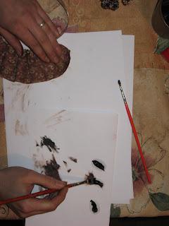 Тонировка масляными красками 4