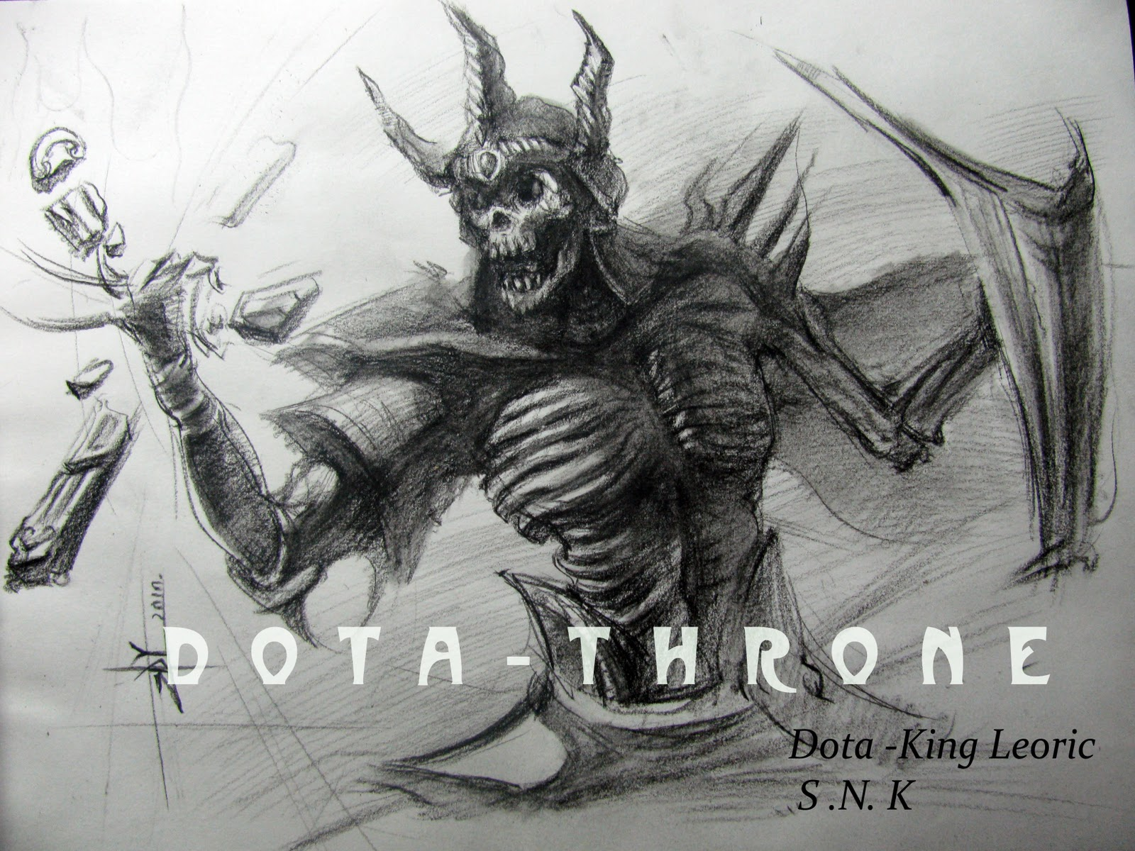 Dota-Throne - Defance Of The Ancients: Dota - King Leoric