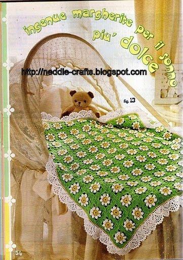 كروشيه جديده و جميله beautiful baby crochet blanket