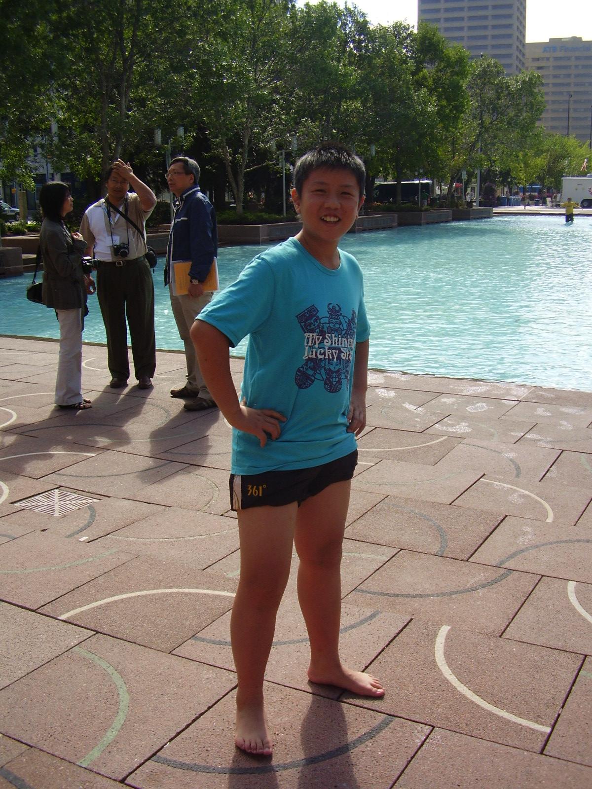 Boys in short shorts: September 2010
