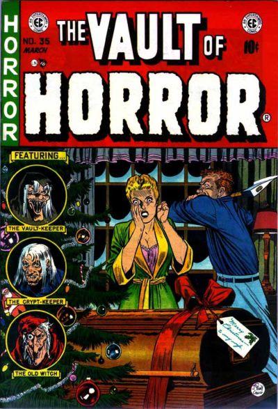 The Vault Of Horror #35 (1954 - EC Comics)