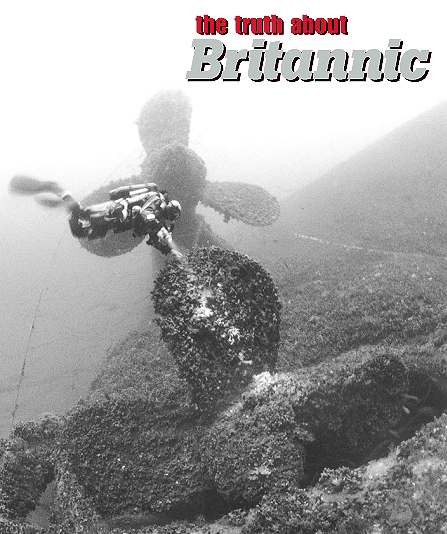 Britannic Sinking Drawing Britannic Sinking