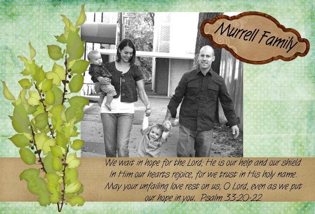 Murrells ~ Peter, Melissa, Joshua & Gabriel