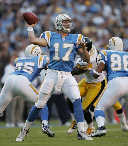 San Diego Chargers Colors: The Han Theory: September 2010