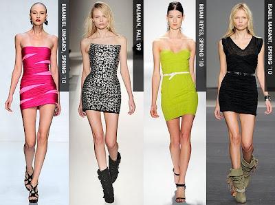 TheSkinny PartyDresses3 2010'un Moda Elbiseleri