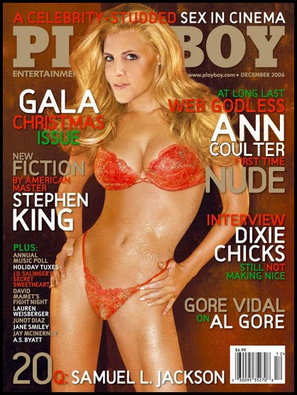 Huge ann coulter fake nude can only