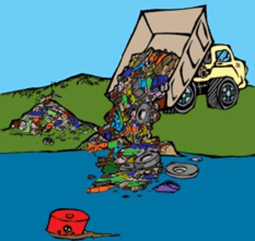 De la contaminacion del agua para colorear - Imagui