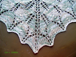 Zarzuela Knits and Crochets   Archive for Kiri Shawl
