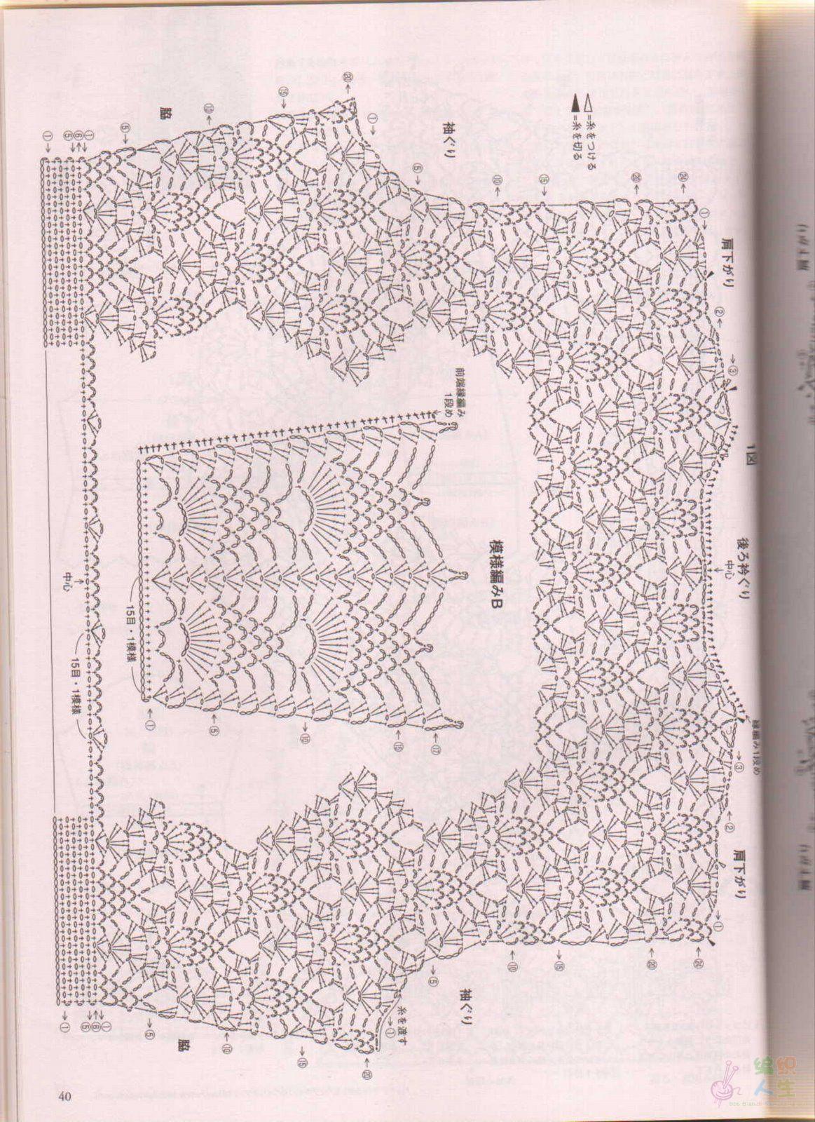 Японские модели крючком Записи в рубрике японские модели крючком 20