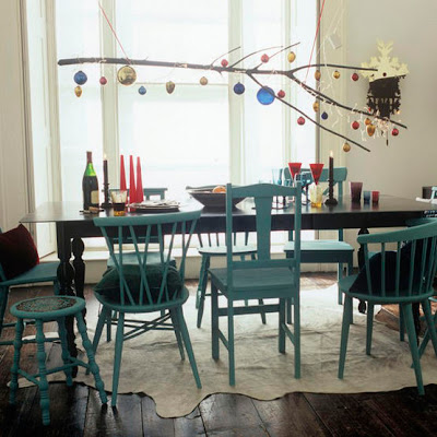 artistic diy chandelier for the holidays
