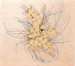 wintery dogwood blossom wreath