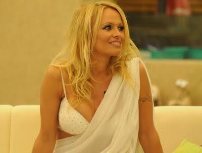 Pamela Anderson enters Bigg Boss house Photos