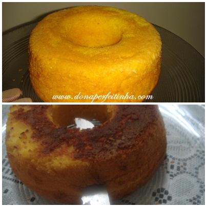 Pra variar um pouco o bolo - recheio e cobertura nele!