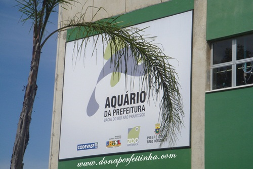 Aquário da prefeitura de Belo Horizonte