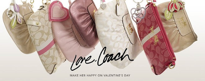 girls lil' luxuries..authentic coach and designer labels at lower price