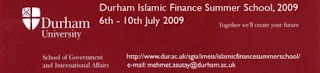 DURHAM ISLAMIC FINANCE