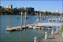 The dingy dock, Brisbane River