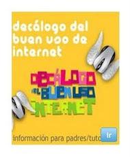 DECÁLOGO BUEN USO DE INTERNET