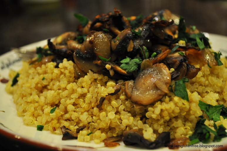Quinoa Mushroom Pilaf Recipes — Dishmaps