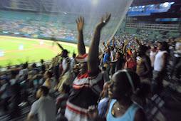 Celebrating Fans