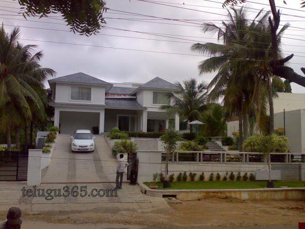 Chiranjeevi House Inside