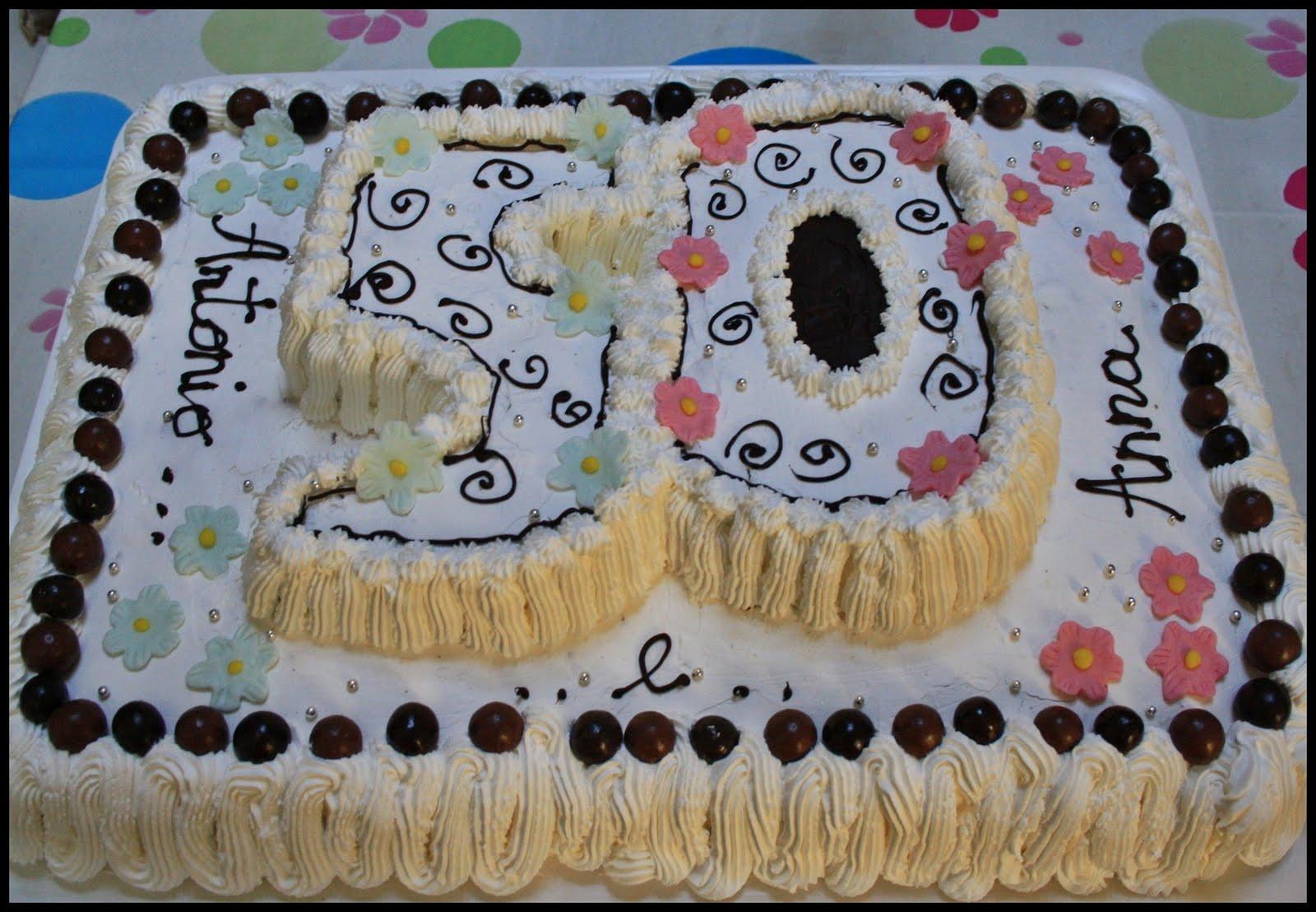Molto Semplicemente: torta 50 anni RE21