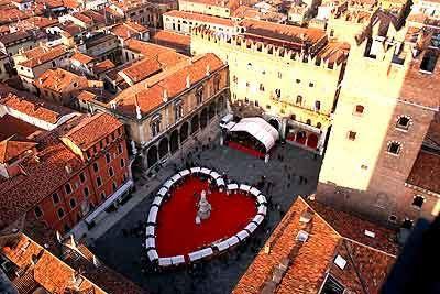 Plaza de los Señores, Verona